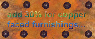 haciendarustica.com  copper offer